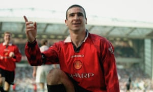 Eric Cantona 'took the responsibility away' from Manchester United's players, according to Paul Ince. 'He just had this aura.'