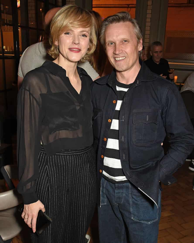 With her partner, TV art director Pawlo Wintoniuk