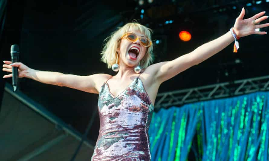 Jepsen performs at Lollapalooza festival in Chicago