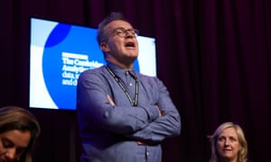 Tom Watson speaks at a fringe debate hosted by the Observer at the Labour party annual conference in Liverpool.