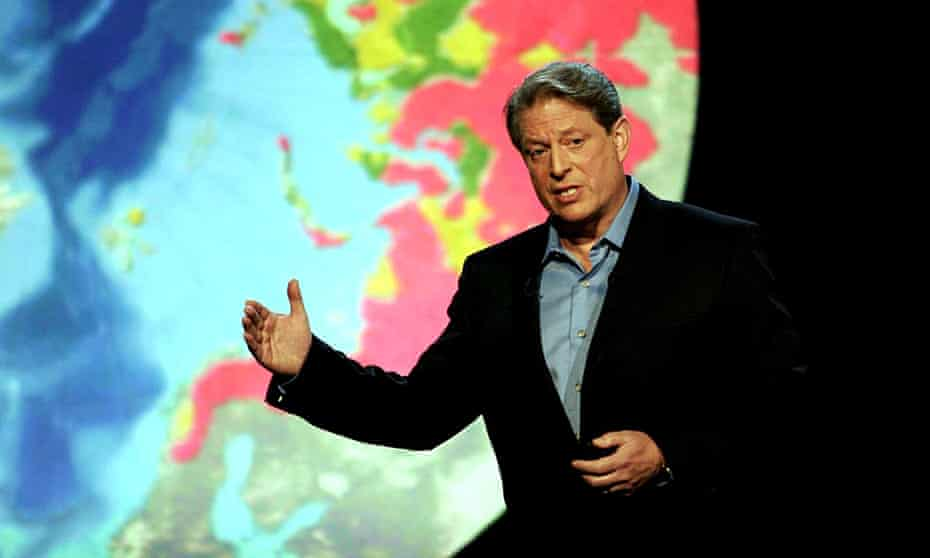 Al Gore who will feature in the follow up said: '… we must rededicate ourselves to solving the climate crisis'