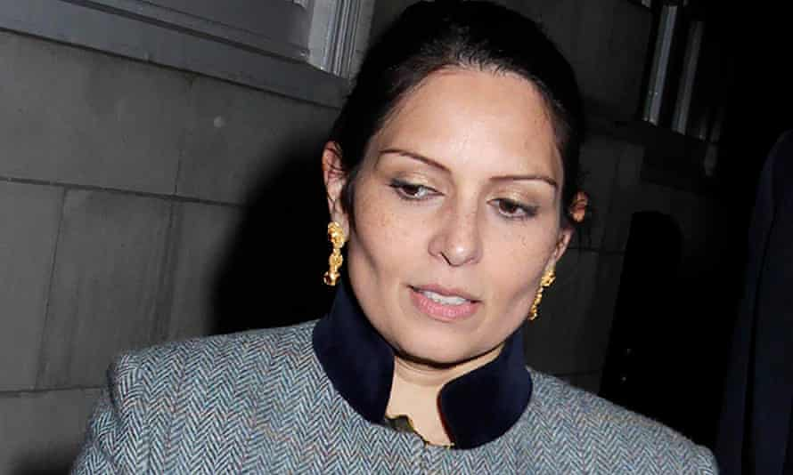 Home secretary Priti Patel has targeted lawyers who work on immigration cases.