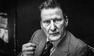 Lucian Freud photographed in 1982.