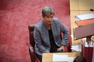 Senate Labor leader Penny Wong during question time