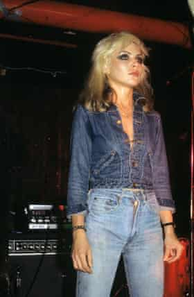 Debbie Harry on stage in 1978.