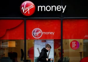 A branch of Virgin Money in Manchester