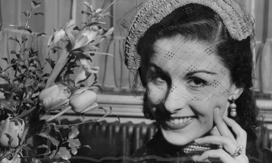 Violetta Elvin in the 1950s.