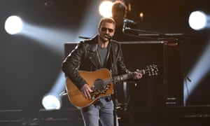 Mr Misunderstood? Eric Church performs at the 49th annual CMA Awards