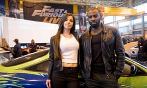 Actors Elysia Wren and Mark Ebulué, who will be starring in the Fast and Furious Live.