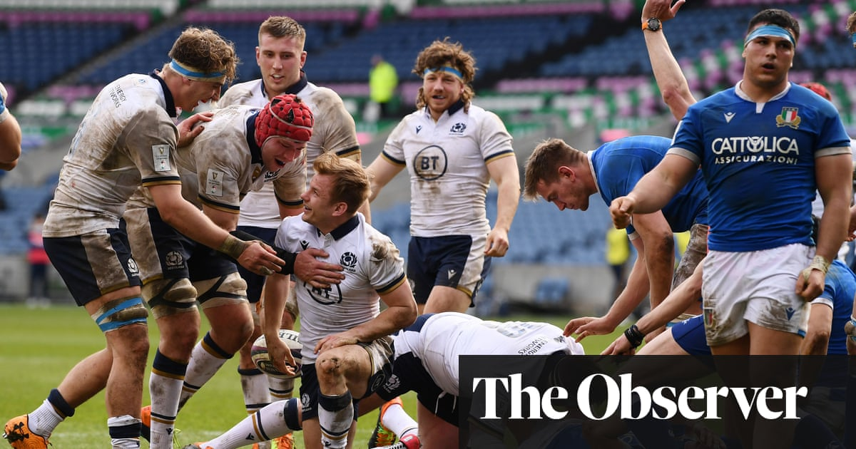 Scotland demolish Italy and are boosted by player release for France