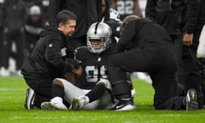 Amari Cooper is currently in the concussion protocol after being injured in the Raiders' loss to Seattle this month