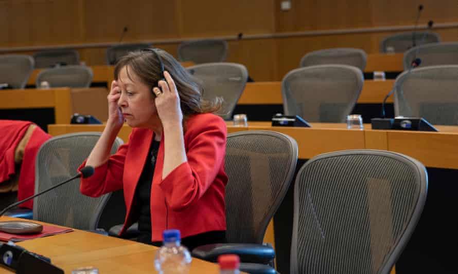 Plaid Cymru's Jill Evans returned to Brussels and Strasbourg.