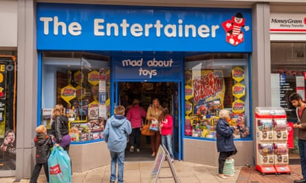 A branch of The Entertainer in Ipswich.