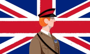 Army officer illustration
