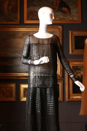 Evening dress (1925) by Lanvin, Paris  Silk (chiffon, ribbon)