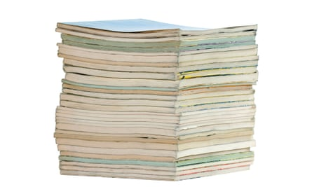 Pile of reports