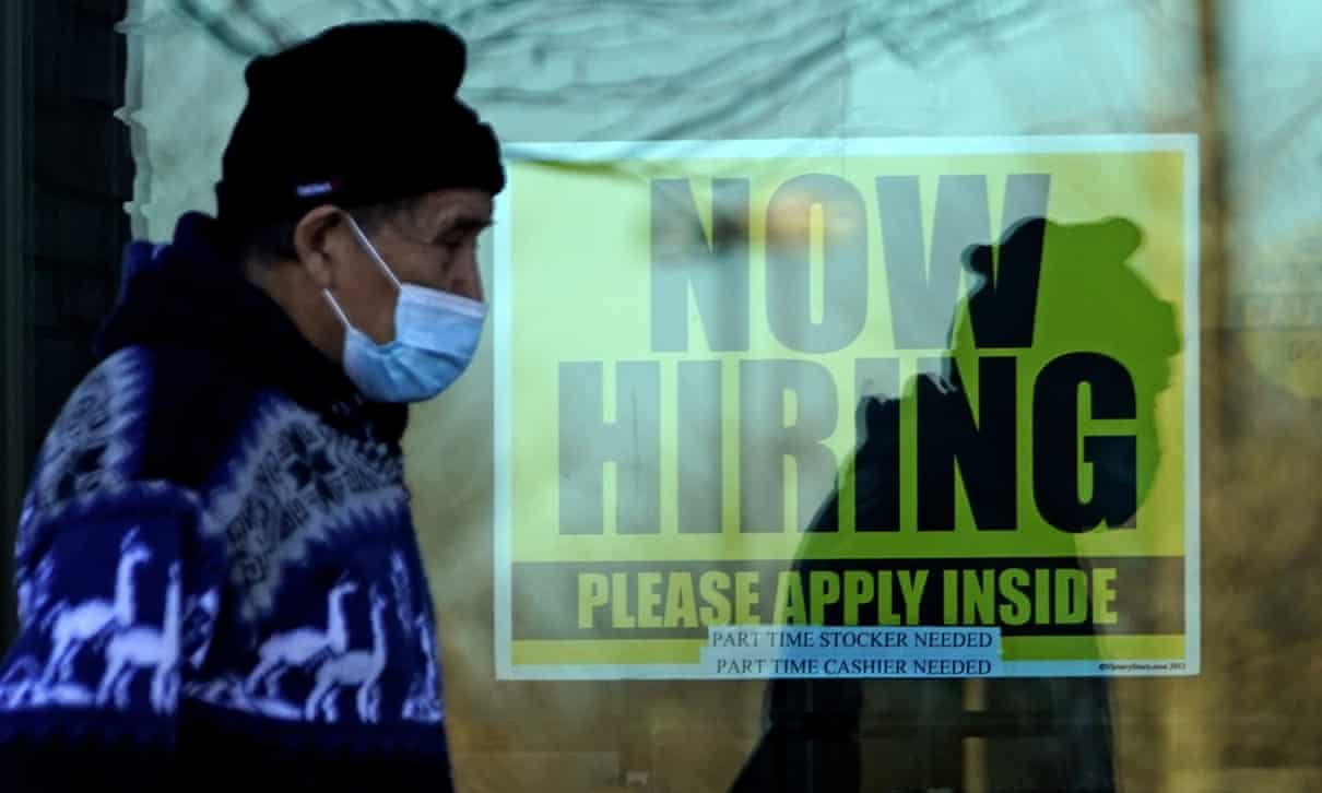 US job marked recovery slows