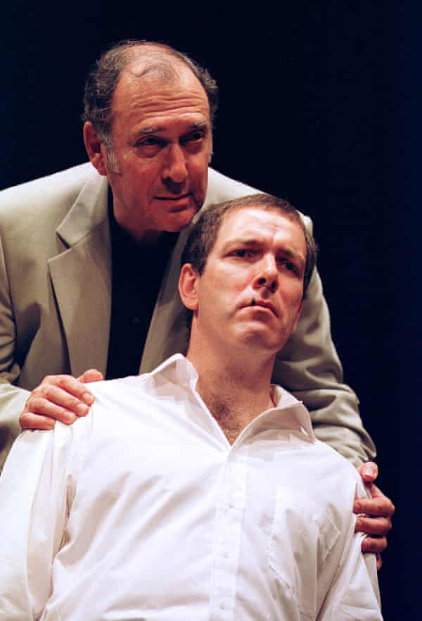 Pinter with Lloyd Hutchinson in One for the Road in 2001.