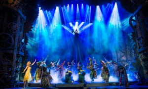 Wicked at the Apollo, London. ACE's report confirms that a small number of hit shows, often musicals, account for a large proportion of box-office income.