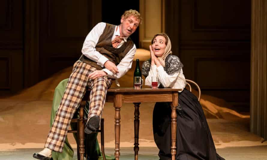 Brindley Sherratt as Baron Ochs of Lerchenau in Welsh National Opera's 2017 production of Der Rosenkavalier