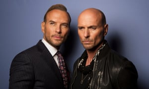 Matt and Luke Goss: 'Most fortresses, in my research, are square.'