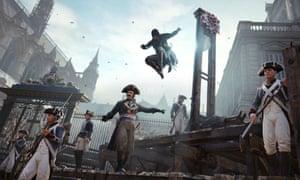 'A powerful, intimate sense of deja vu' … Notre Dame in Assassins Creed.