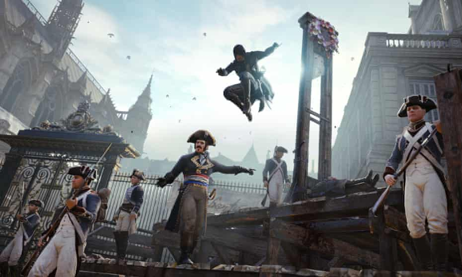 'A powerful, intimate sense of deja vu' … Notre Dame in Assassins Creed.