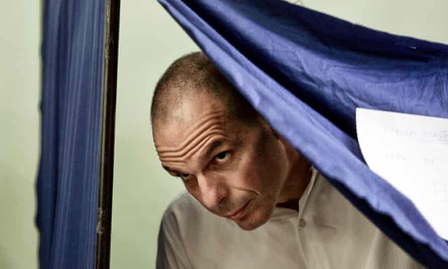 The former Greek finance minister Yanis Varoufakis.