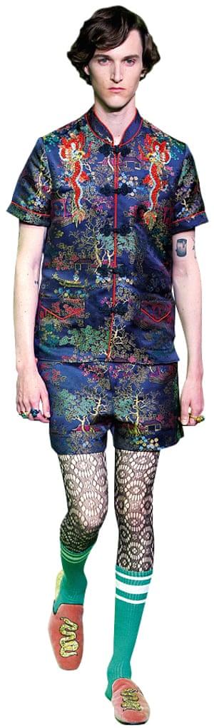 Gucci runway men's fashion week, Milan June 2016