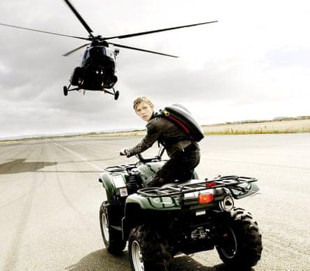 Teen spy … Stormbreaker, the film adaptation of Horowitz's Alex Rider series.