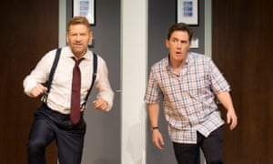 Kenneth Branagh and Rob Brydon in The Painkiller.