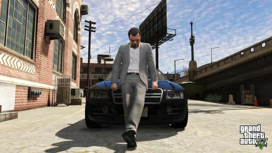 Grand Theft Auto V.