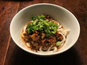 J Kenji Lopez Alt's vegan dan dan noodles.
