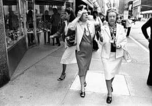 Madison Ave, upper 50's, 1980