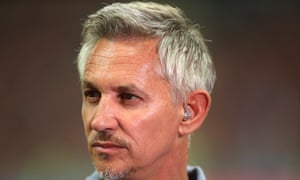 Gary Lineker: told to concentrate on his day job.
