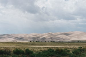 Sand dunes in the southern Rockies.