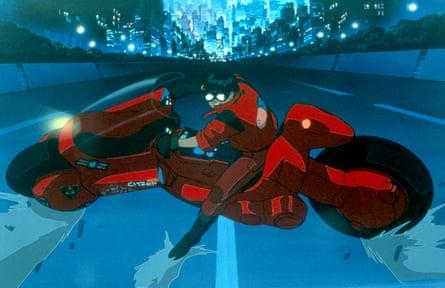 Akira, the 1988 anime adaptation of Katsuhiro Otomo's manga of the same name.