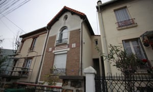 The house where Samy Amimour, one of the attackers of the Bataclan theatre, is believed to have lived in Bobigny, Paris.