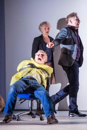 Johnson, Joanne Howarth as Ensemble and Danny Webb as Cornwall