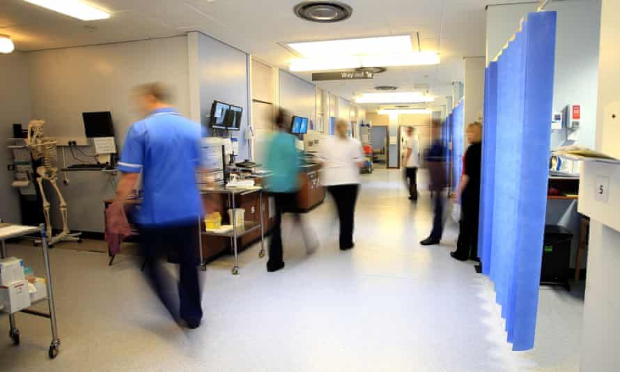 Hospitals are on course to meet a target of spending £1bn less on stand-in staff.