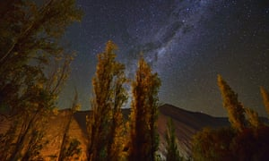 the Milky Way seen from Pisco Elqui, Chile.