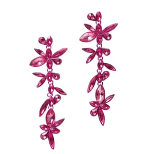 Guide to statement earrings the wish list in pictures fashion pink flowers 12 riverisland mightylinksfo Image collections