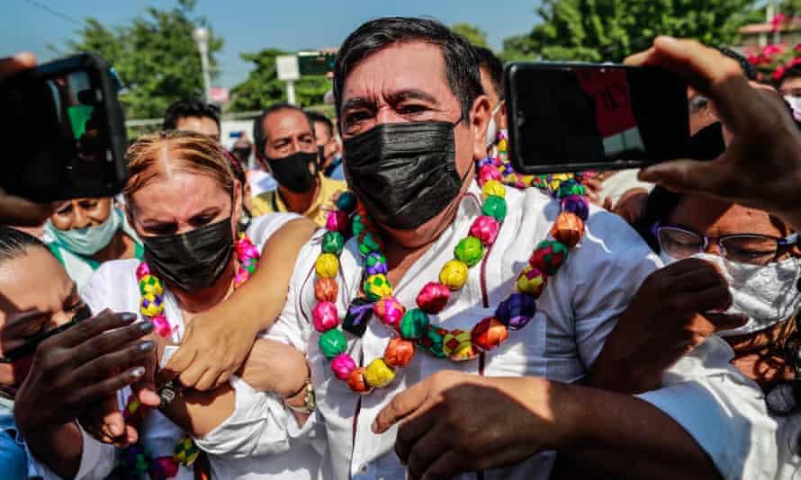 Félix Salgado in Acapulco, Mexico, on 13 March.