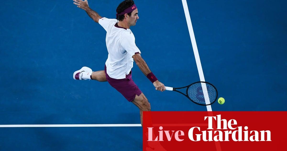 Australian Open: Fucsovics v Federer, Barty beats Riske and more – live!
