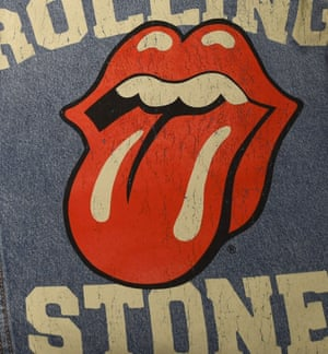 Inspired by Kali's tongue … the Rolling Stones logo.