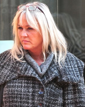 Julie Seddon at the 2015 inquest into her son's death.