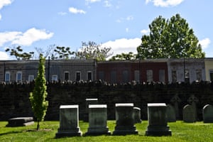 Green Mount Cemetery which was featured in most seasons of The Wire, photograph by JM Giordano