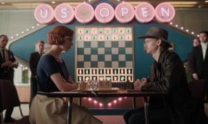 Anya Taylor-Joy as Beth Harmon in the Netflix series The Queen's Gambit.