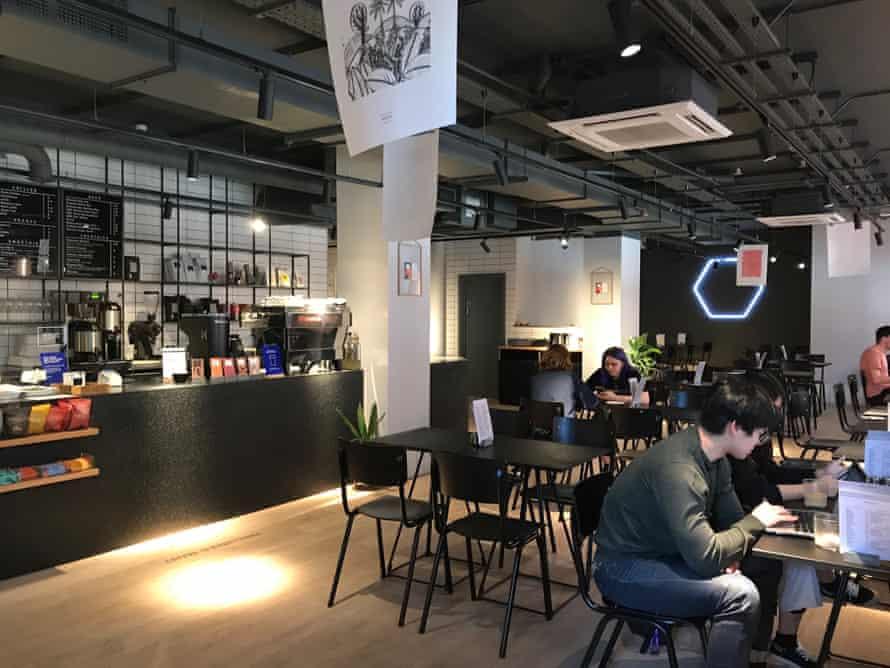 Foundation coffee shop, part of Whitworth Locke, Manchester