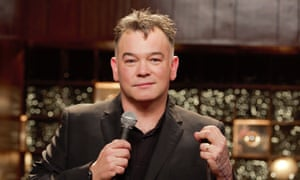 """'I just pretended to be married to him in order to """"get on in this business""""' … Stewart Lee."""